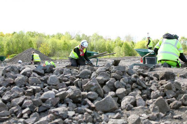 Arkeologiska fynd av en centralplats i Ströja